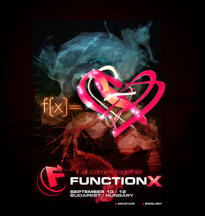 FUNCTION-X / September 10-12 / Budapest, Hungary - Click to enter